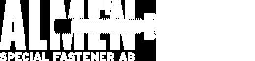 Almén Special Fastener – Industriella fästelement Logo